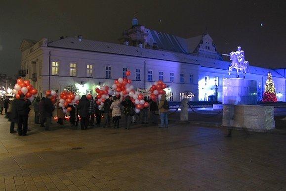 Krakowskie PrzedmieÅ›cie, 10 grudnia 2012